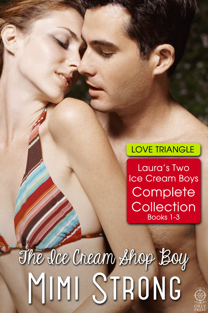 Laura's Two Ice Cream Boys: Complete Collection (erotic romance)