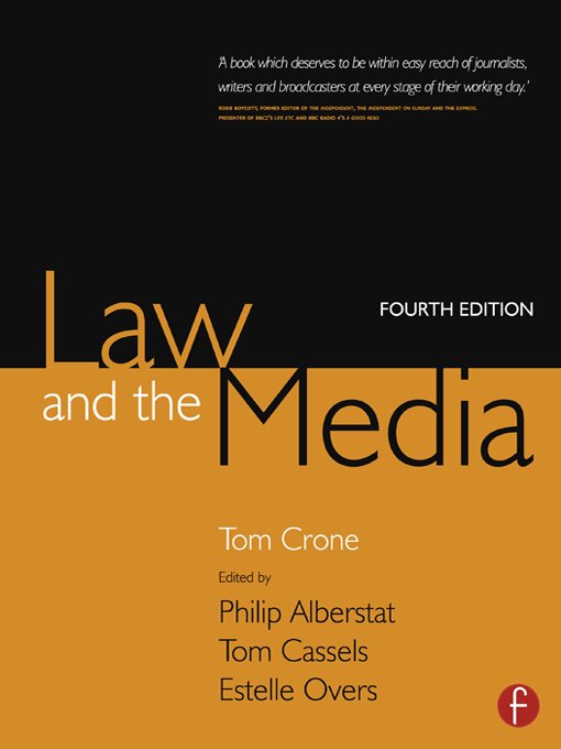 Law and the Media