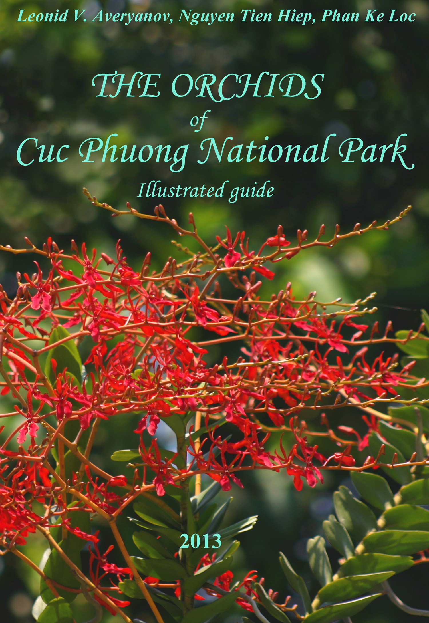 The Orchids of Cuc Phuong National Park - lllustrated Guide