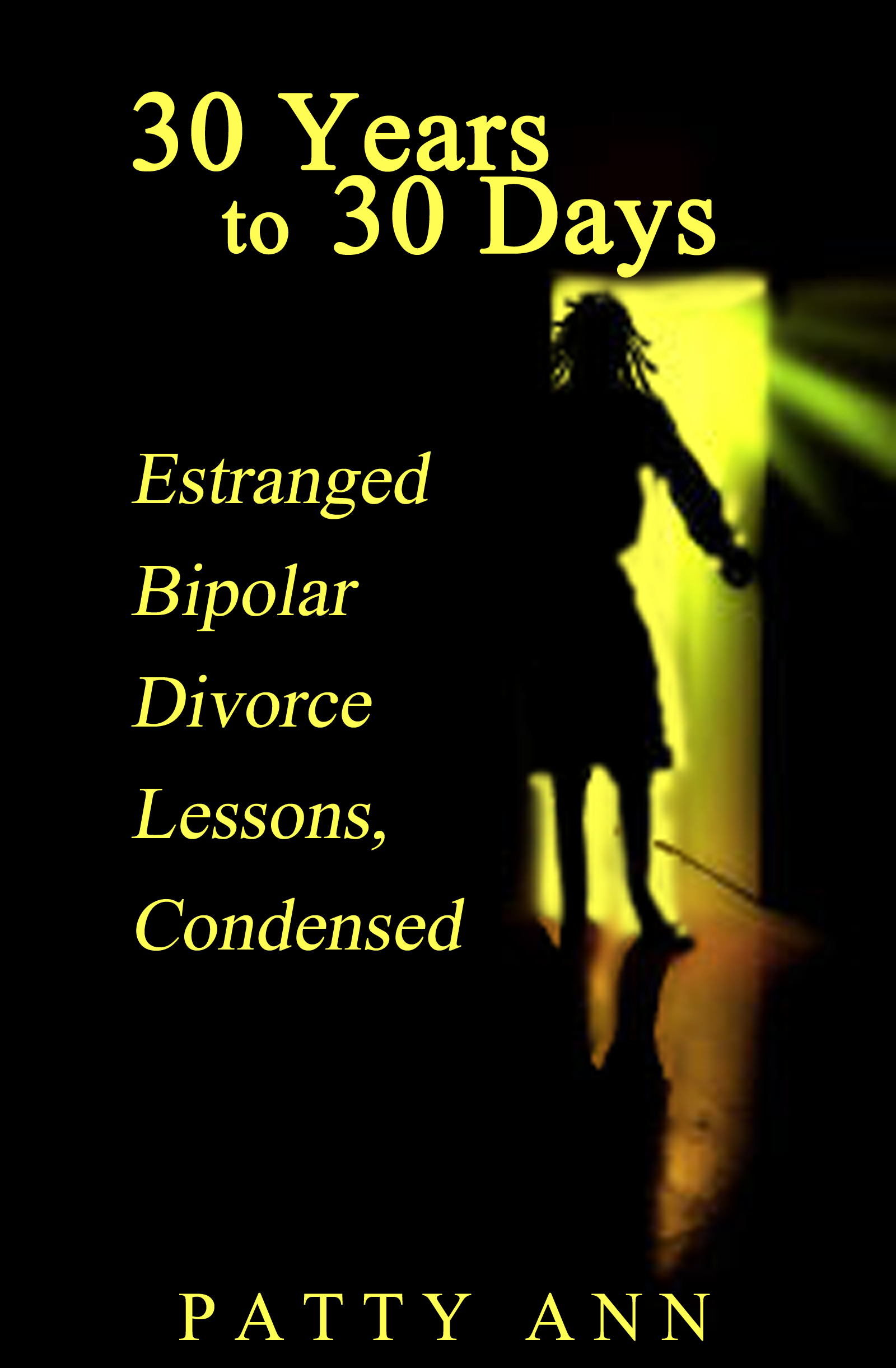 30 Years to 30 Days; Estranged Bipolar Divorce Lessons, Condensed