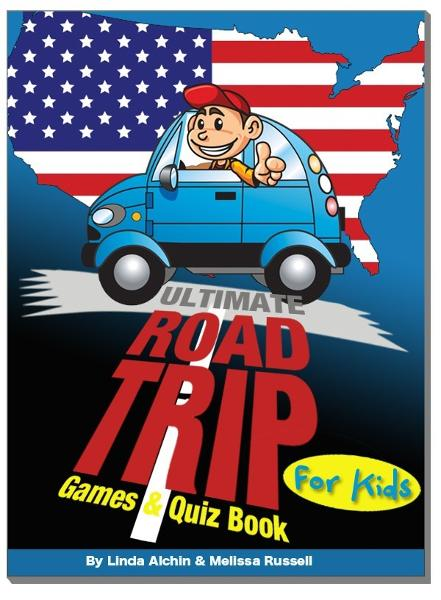 Ultimate Roadtrip Games & Quiz Book For Kids