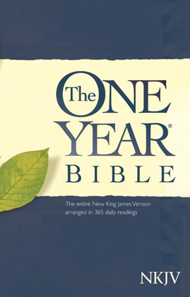 The One Year Bible NKJV By: Tyndale