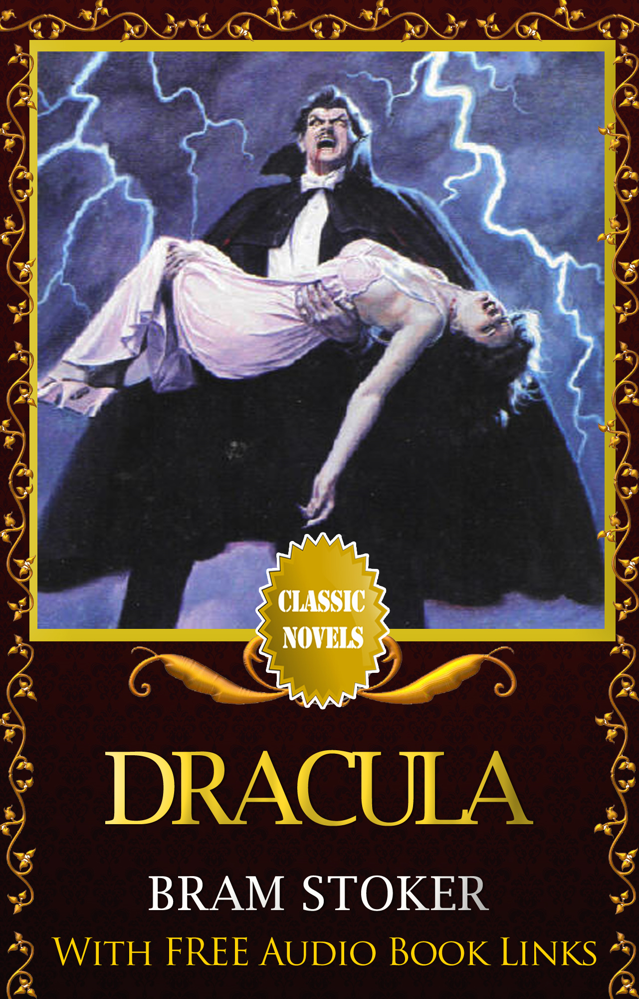DRACULA Classic Novels: New Illustrated By: Bram Stoker