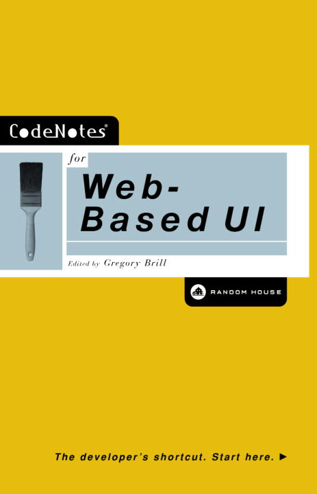 CodeNotes for Web-Based UI