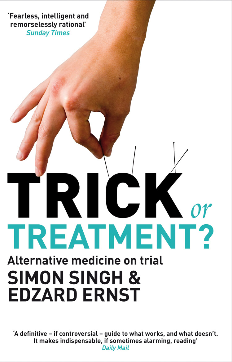 Trick or Treatment? Alternative Medicine on Trial