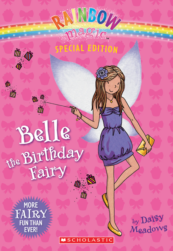 Rainbow Magic Special Edition: Belle the Birthday Fairy