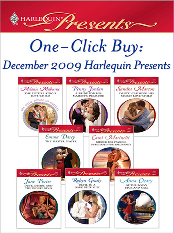 One-Click Buy: December 2009 Harlequin Presents