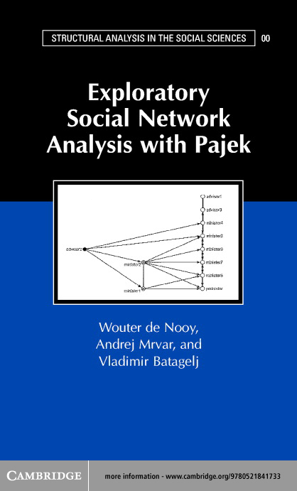 Exploratory Social Network Analysis with Pajek
