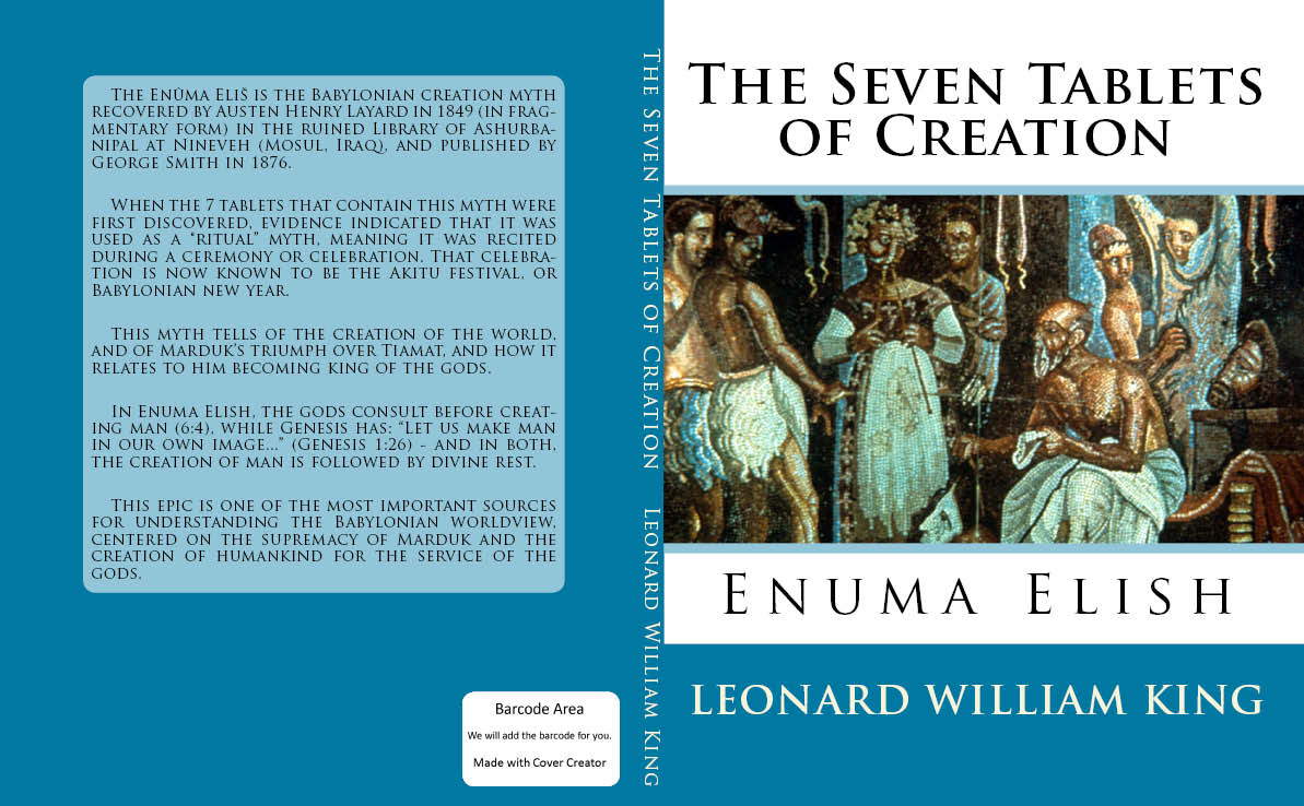 The Seven Tablets of Creation:
