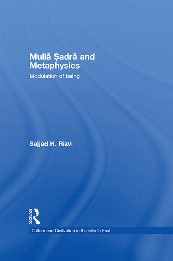 Mulla Sadra and Metaphysics