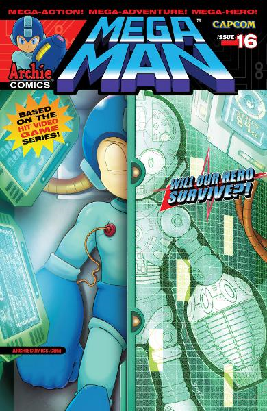 Mega Man #16 By: Gary Martin,Ian Flynn,John Workman,Jonathan Hill,Matt Herms