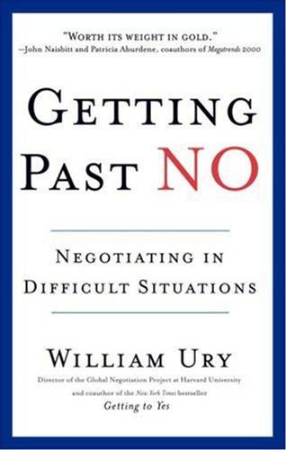 Getting Past No By: William Ury