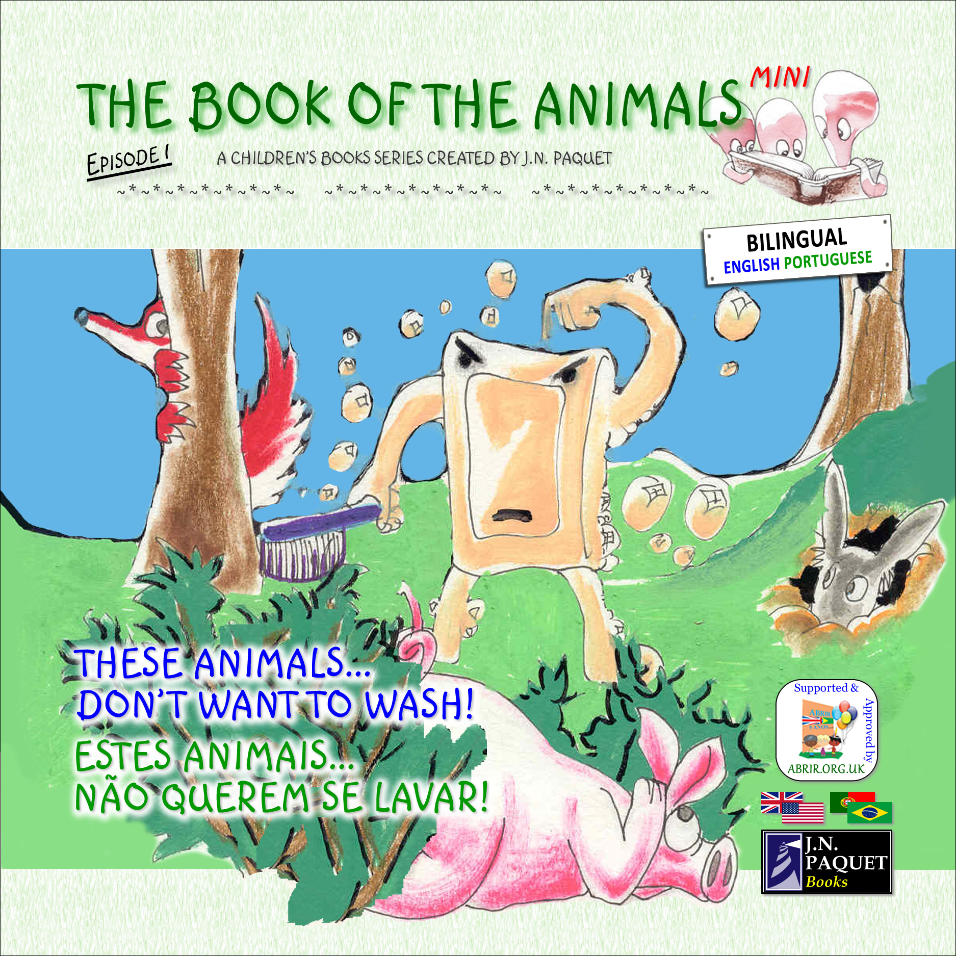 The Book of The Animals - Mini - Episode 1 (Bilingual English-Portuguese)