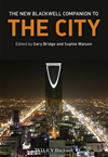 The New Blackwell Companion To The City: