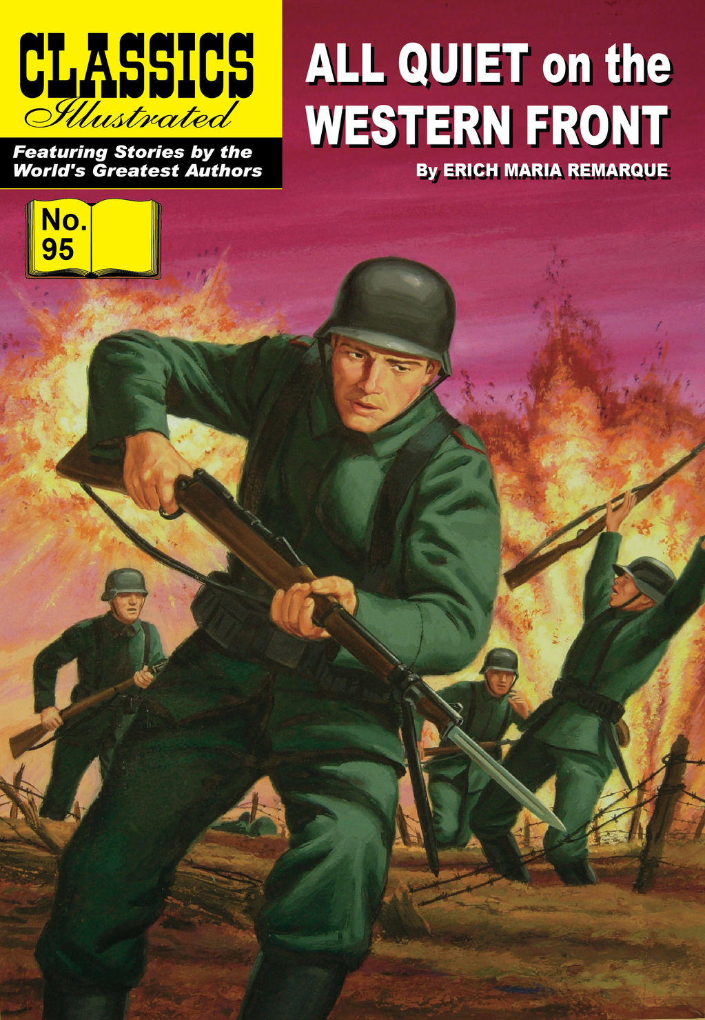 All Quiet on the Western Front - Classics Illustrated #95