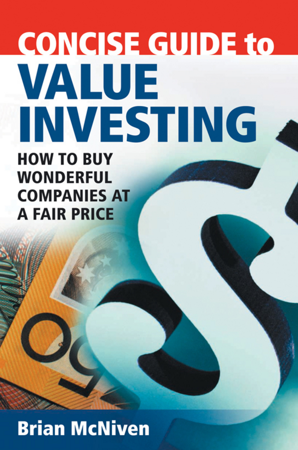 Concise Guide to Value Investing