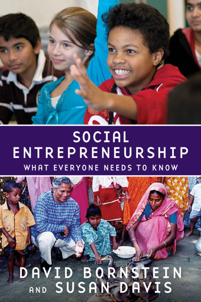 Social Entrepreneurship:What Everyone Needs to Know