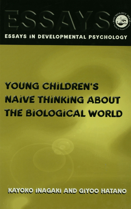 Young Children's Thinking about Biological World