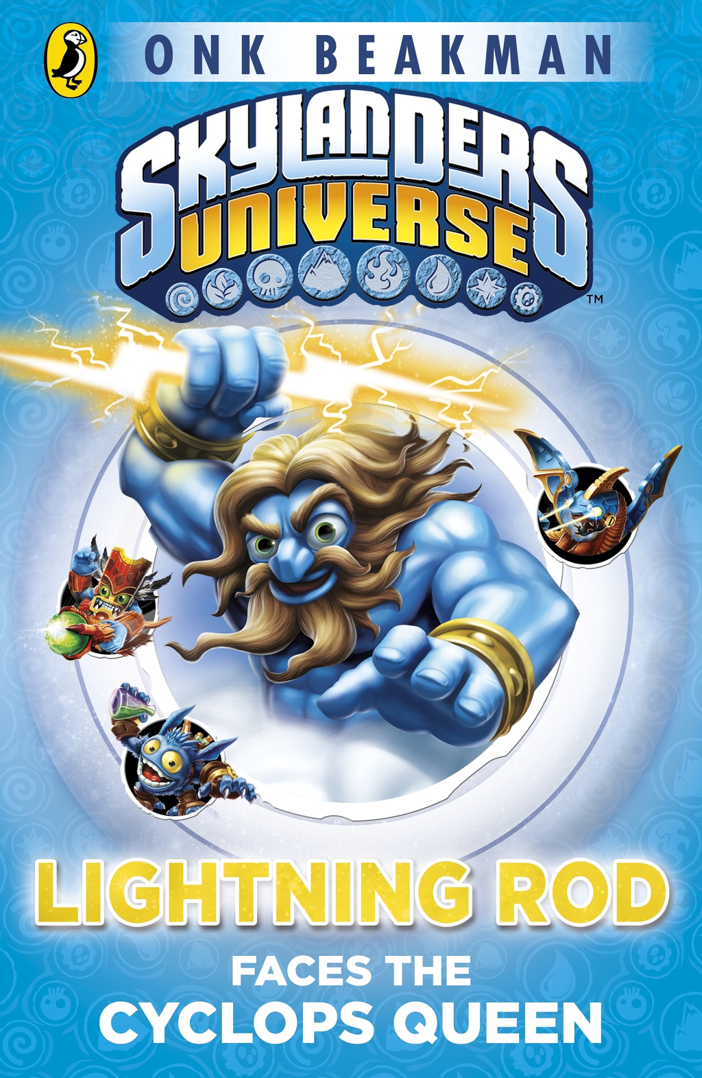 Skylanders Mask of Power: Lightning Rod Faces the Cyclops Queen Book 3