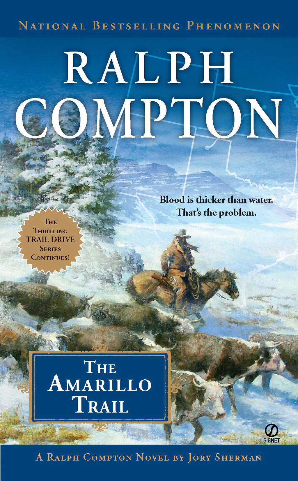 Ralph Compton the Amarillo Trail