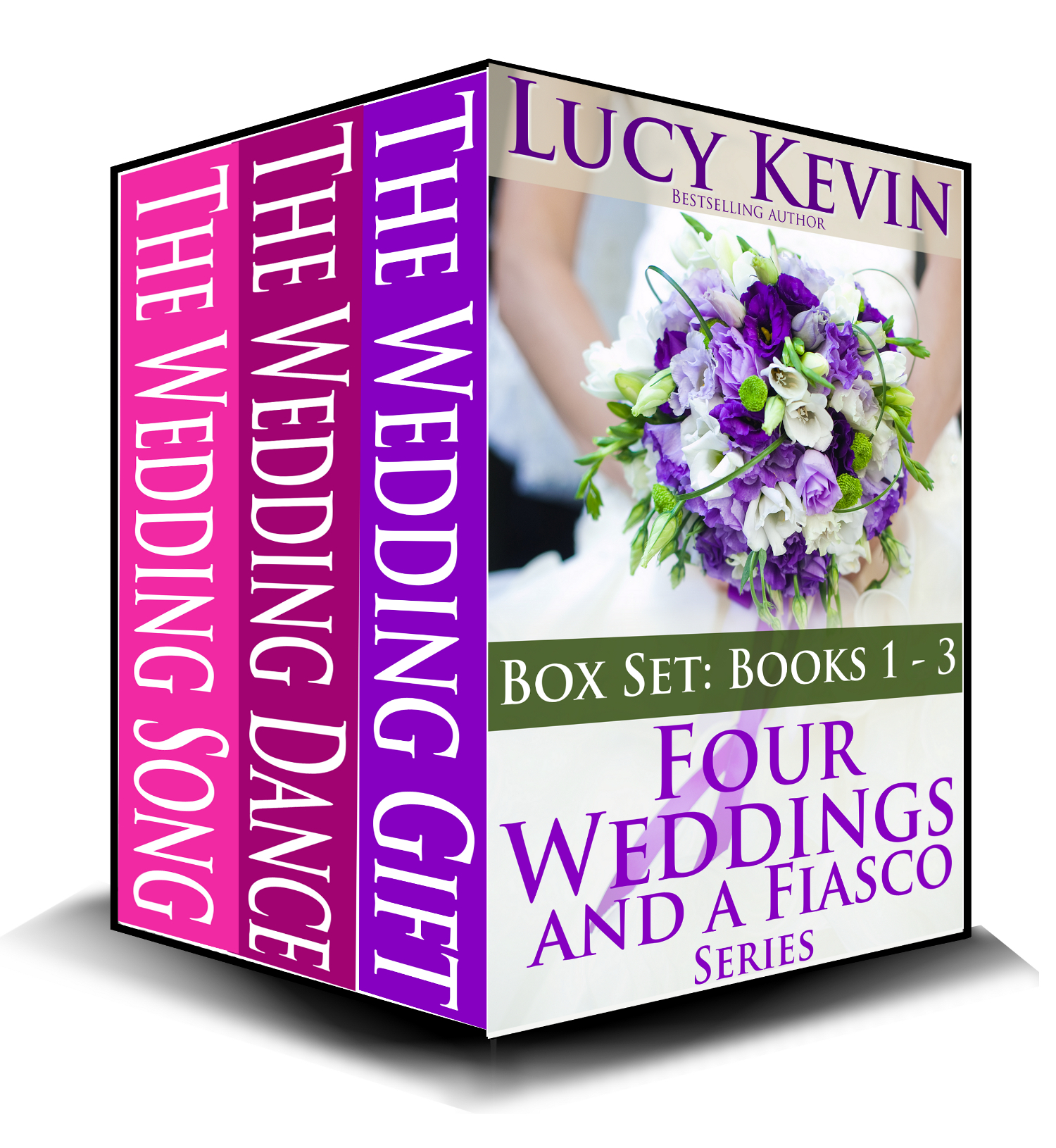 Four Weddings and a Fiasco Boxed Set (Books 1-3) By: Lucy Kevin