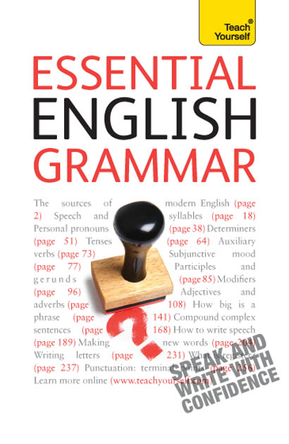 Essential English Grammar: Teach Yourself