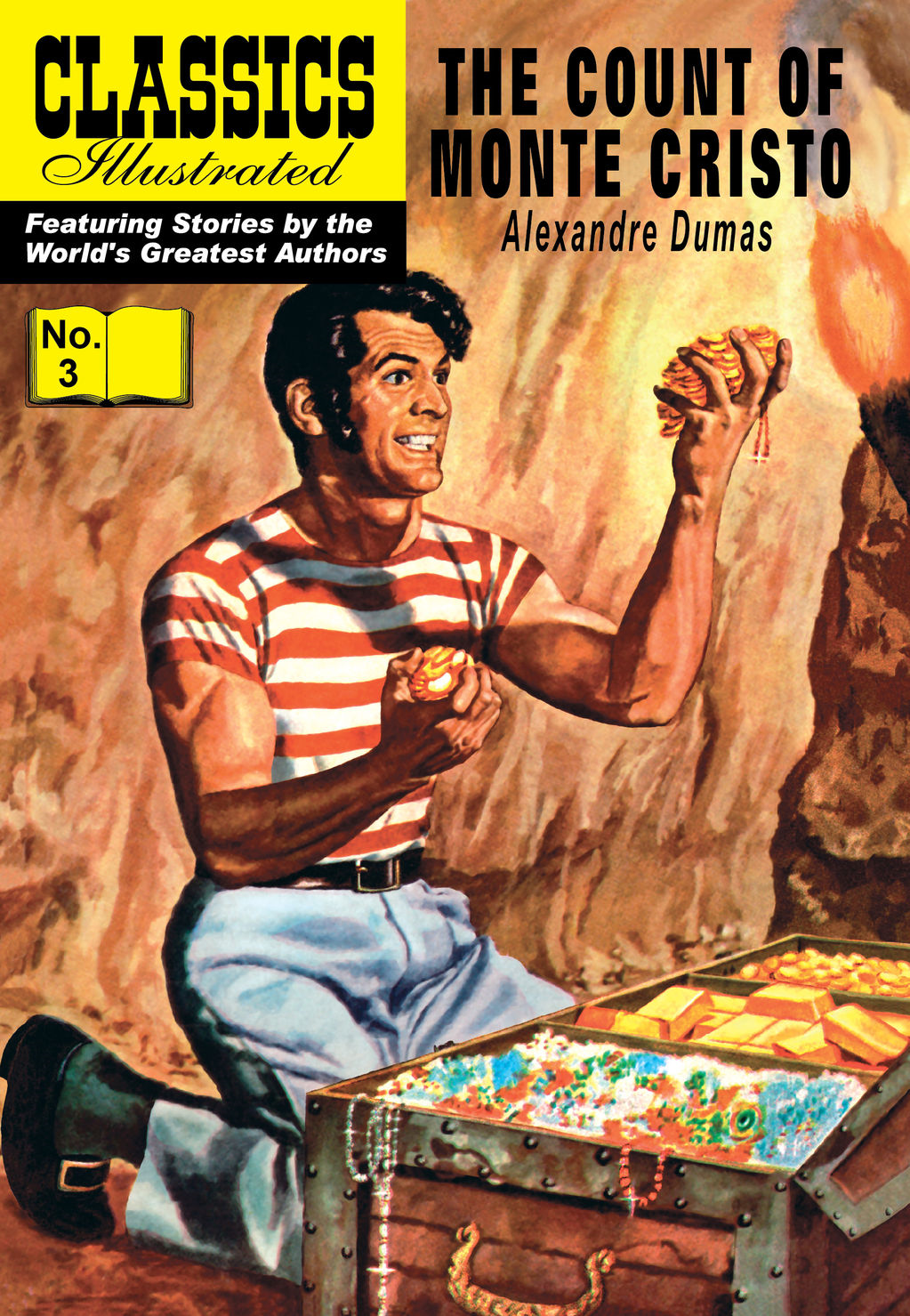 The Count of Monte Cristo - Classics Illustrated #3