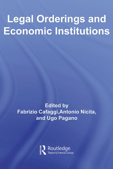Legal Orderings and Economic Institutions