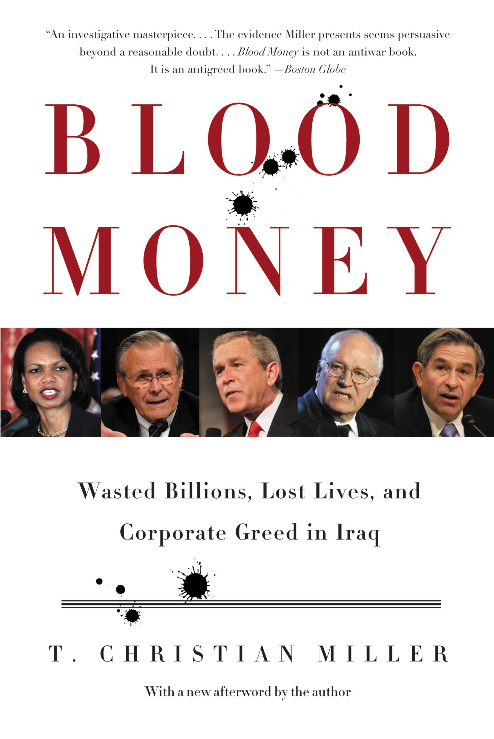 Blood Money By: T. Christian Miller