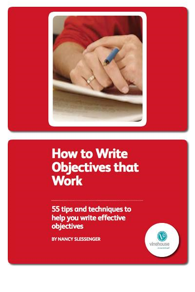 How to write company objectives and goals