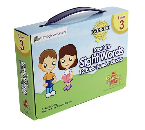 Meet the Sight Words Level 3 Easy Reader Books (set of 12 books)