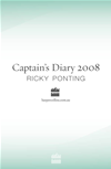 Captain's Diary 2008: A Season Of Tests, Turmoil And Twenty20: