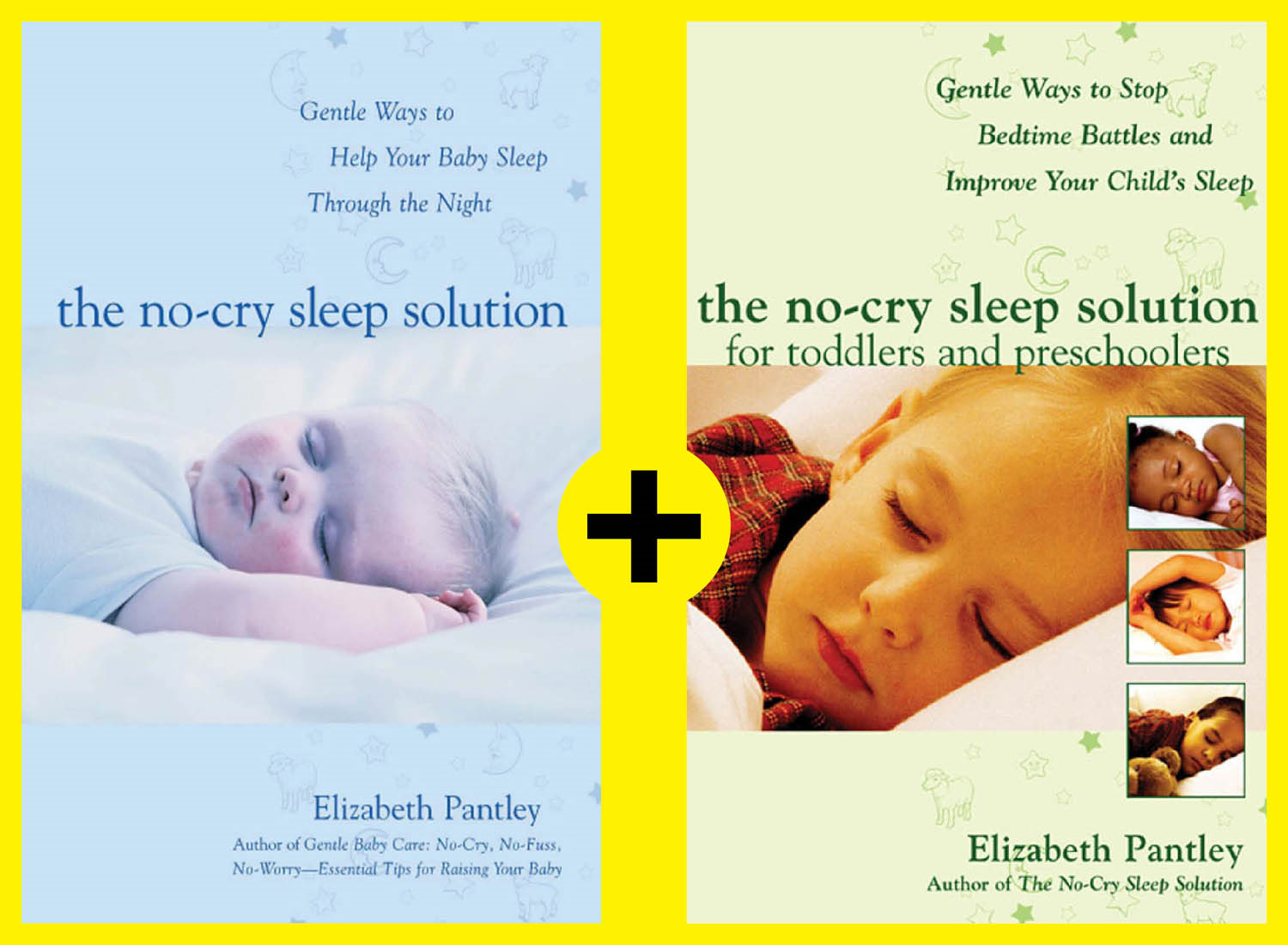 No-Cry Sleep Solutions for Babies through Preschoolers (EBOOK)