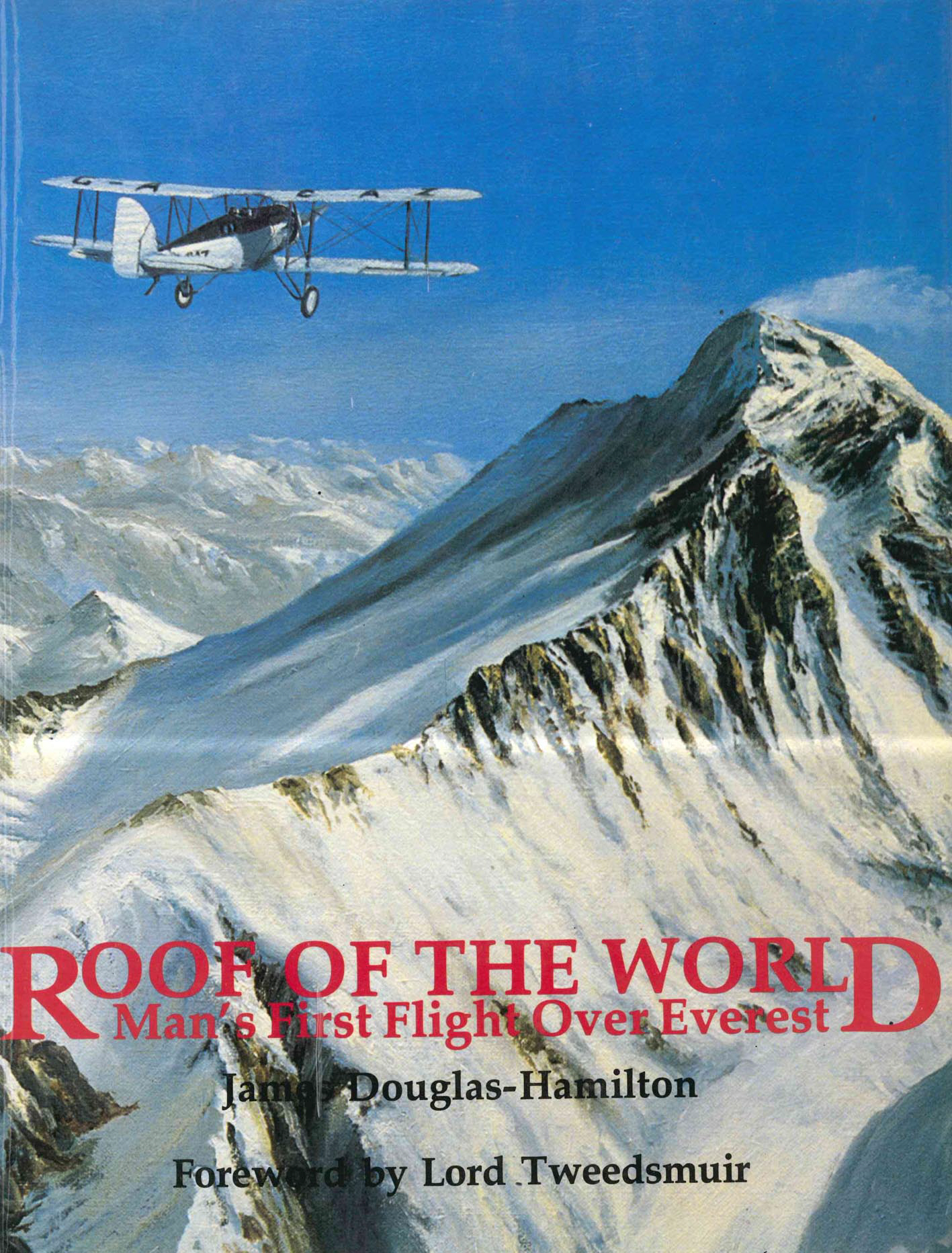 Roof of the World Man's First Flight Over Everest