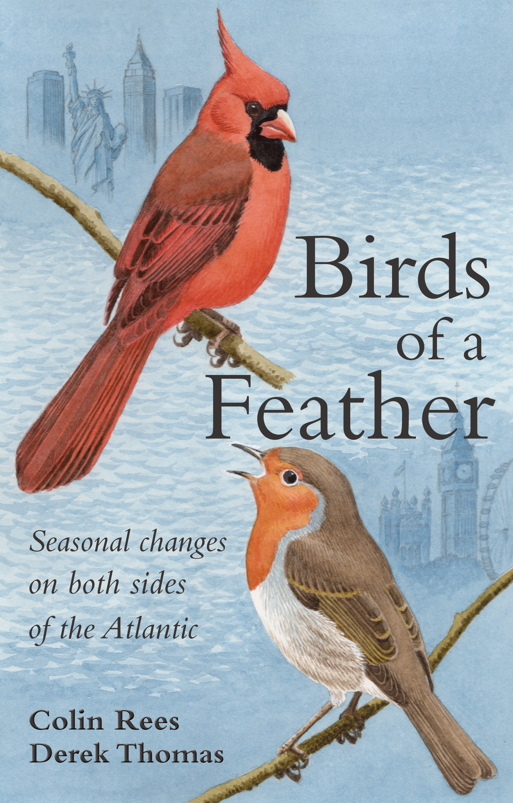 Birds of a Feather Seasonal Changes on both sides of the Atlantic