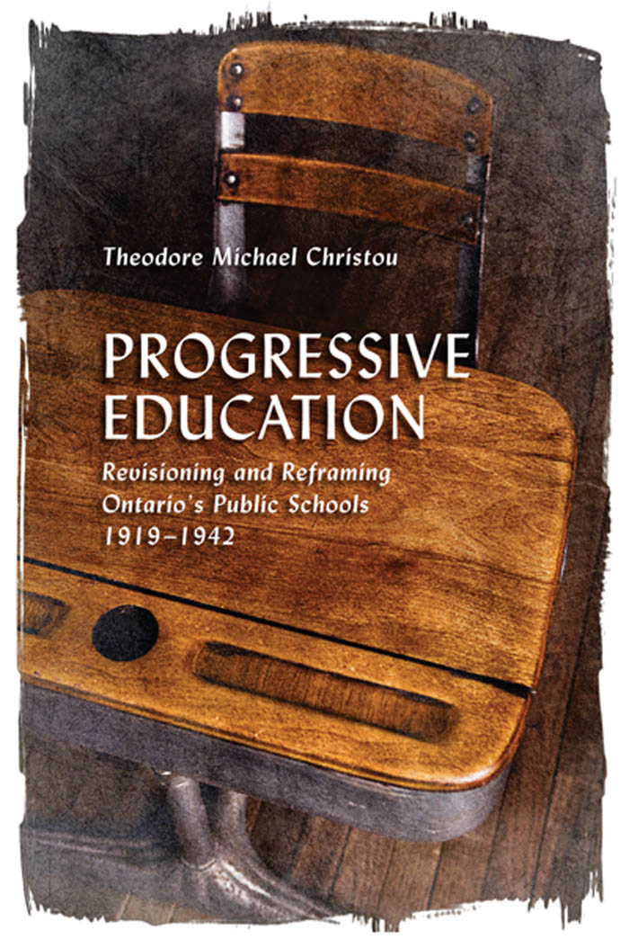 Progressive Education By: Theodore Michael  Christou