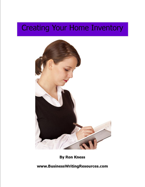 Creating Your Home Inventory