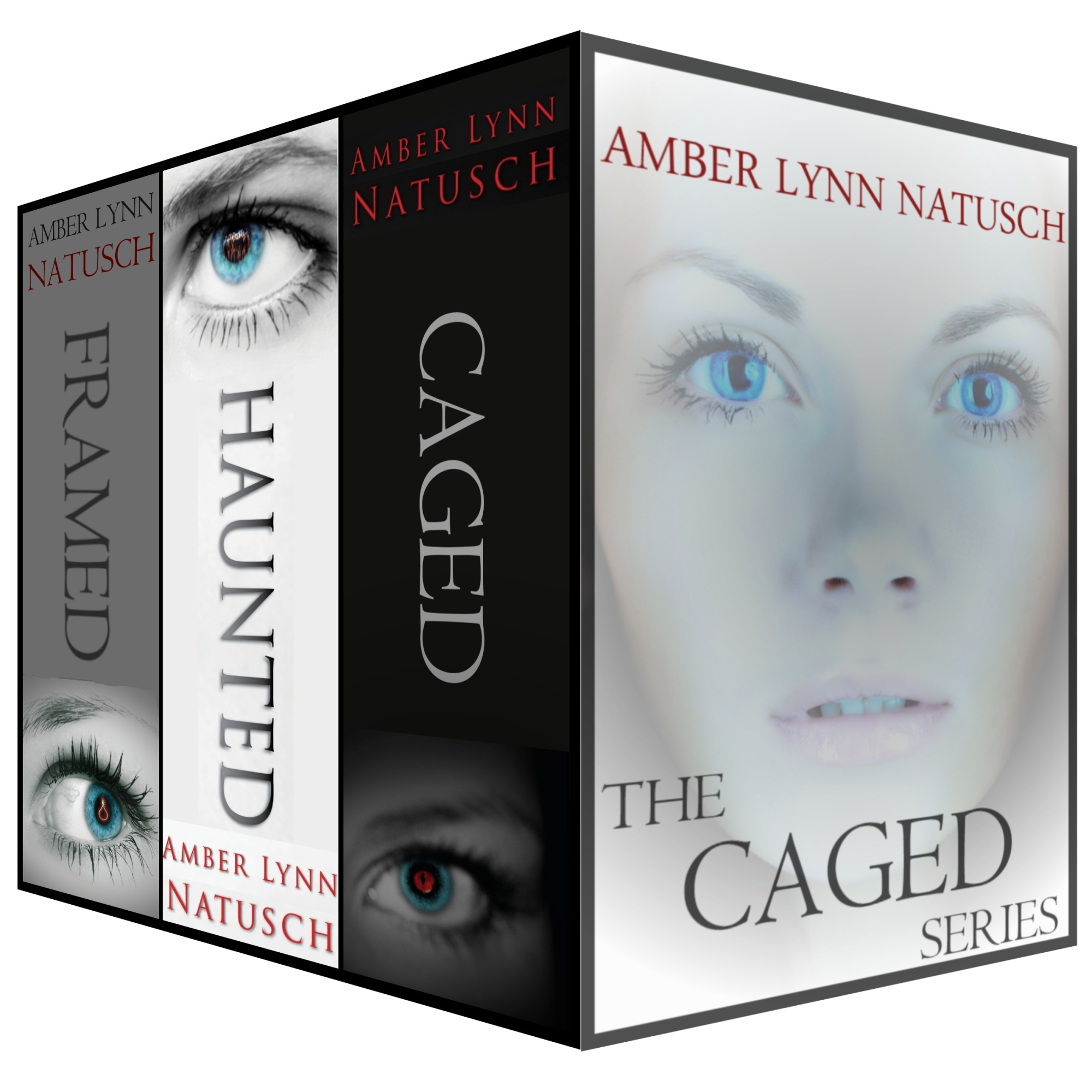 Amber Lynn Natusch - The Caged Series box set (books 1-3)
