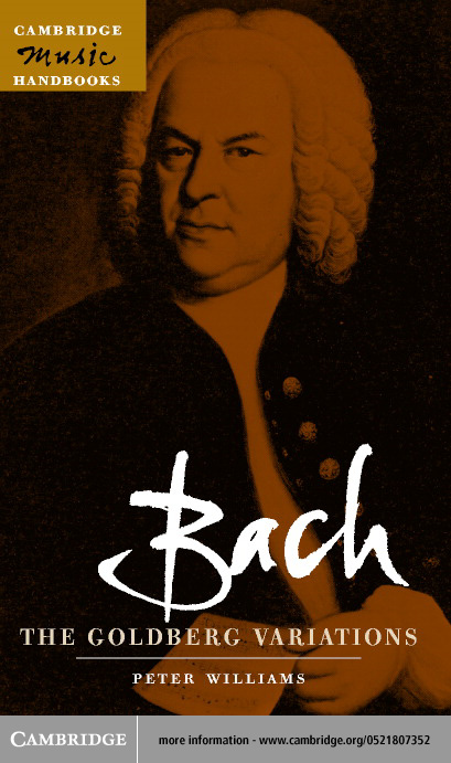 Bach: The Goldberg Variations By: Williams, Peter