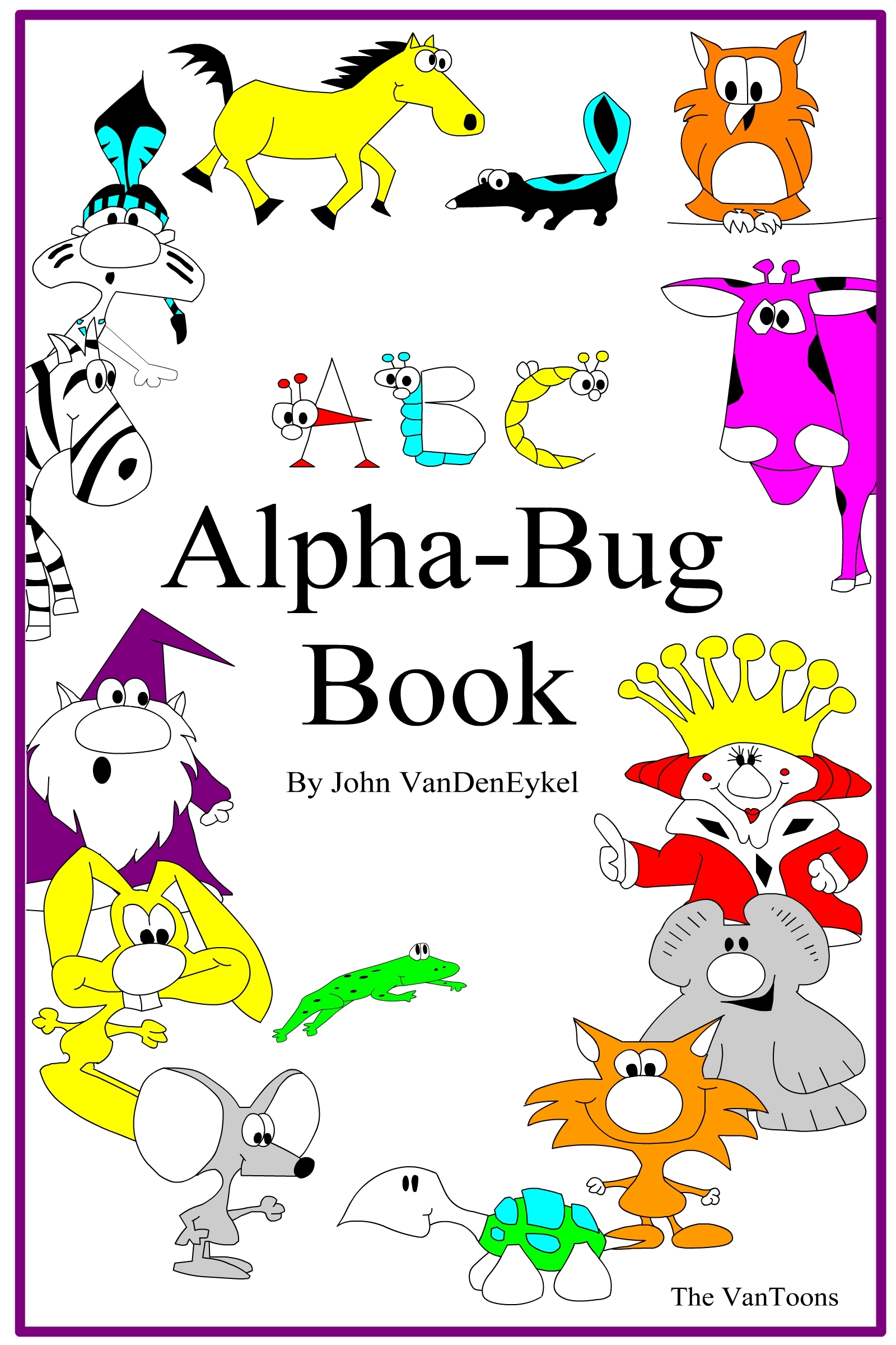 ABC Alpha-Bug Book