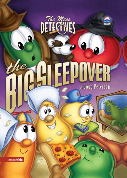 The Mess Detectives: The Big Sleepover By: Doug   Peterson
