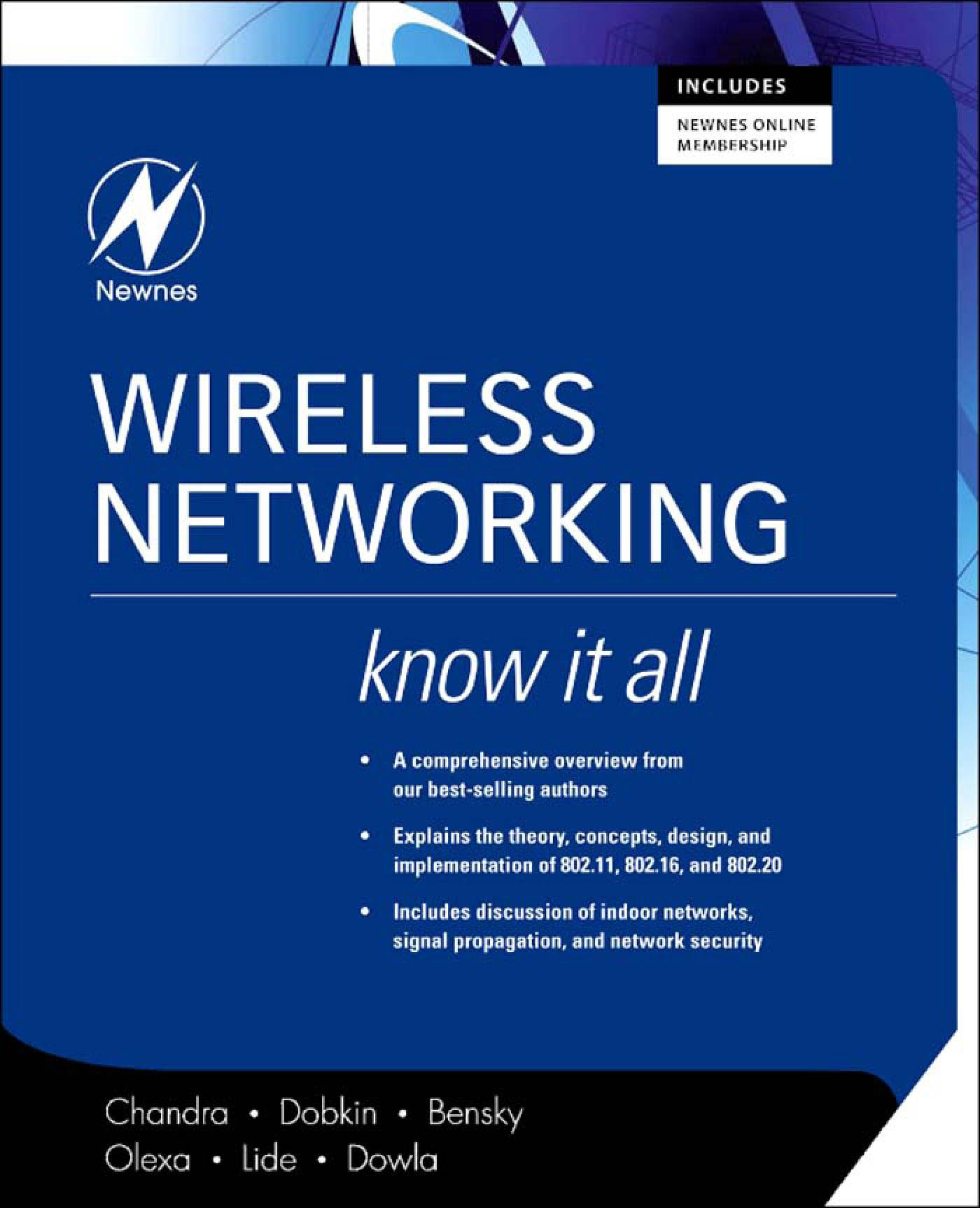 Wireless Networking: Know It All: Know It All