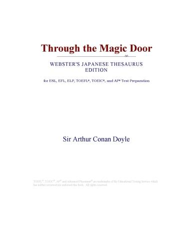 Inc. ICON Group International - Through the Magic Door (Webster's Japanese Thesaurus Edition)