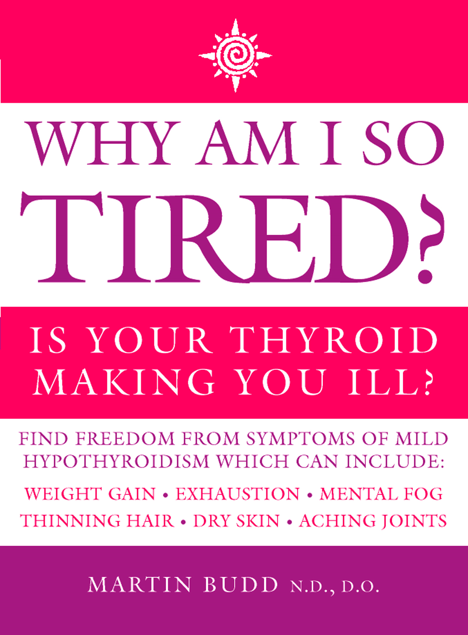 Why Am I So Tired?: Is your thyroid making you ill? By: Martin Budd, N.D., D.O.