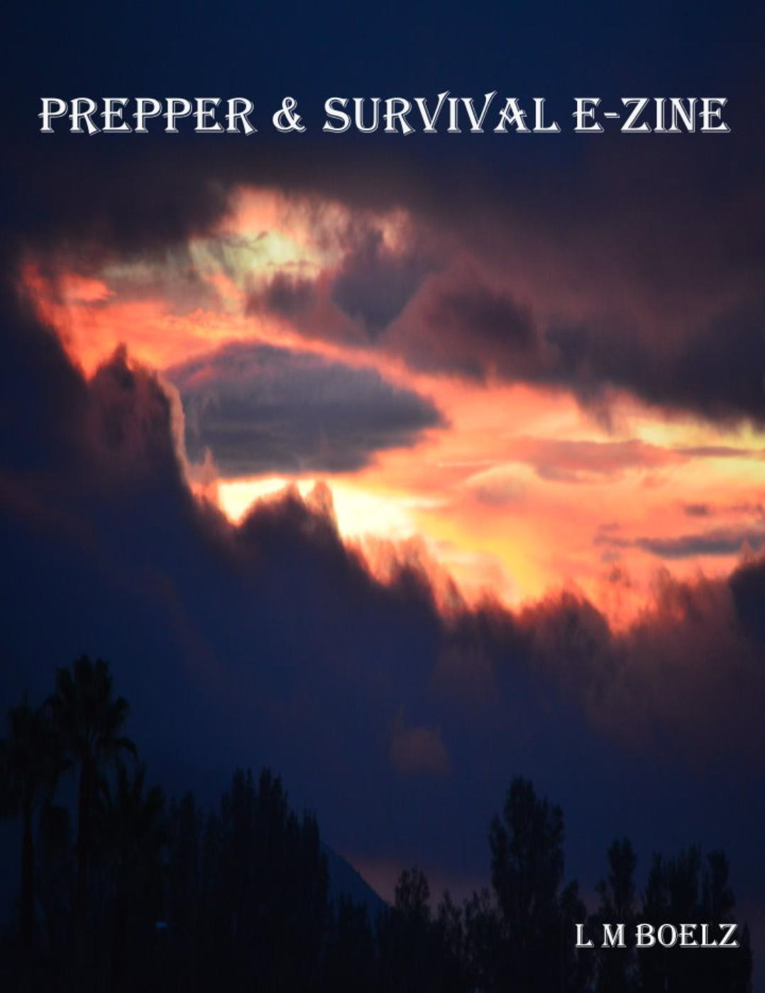 Prepper & Survival E-Zine (Monthly electronic magazine, #1)