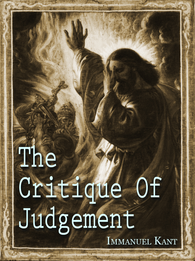 The Critique Of Judgement