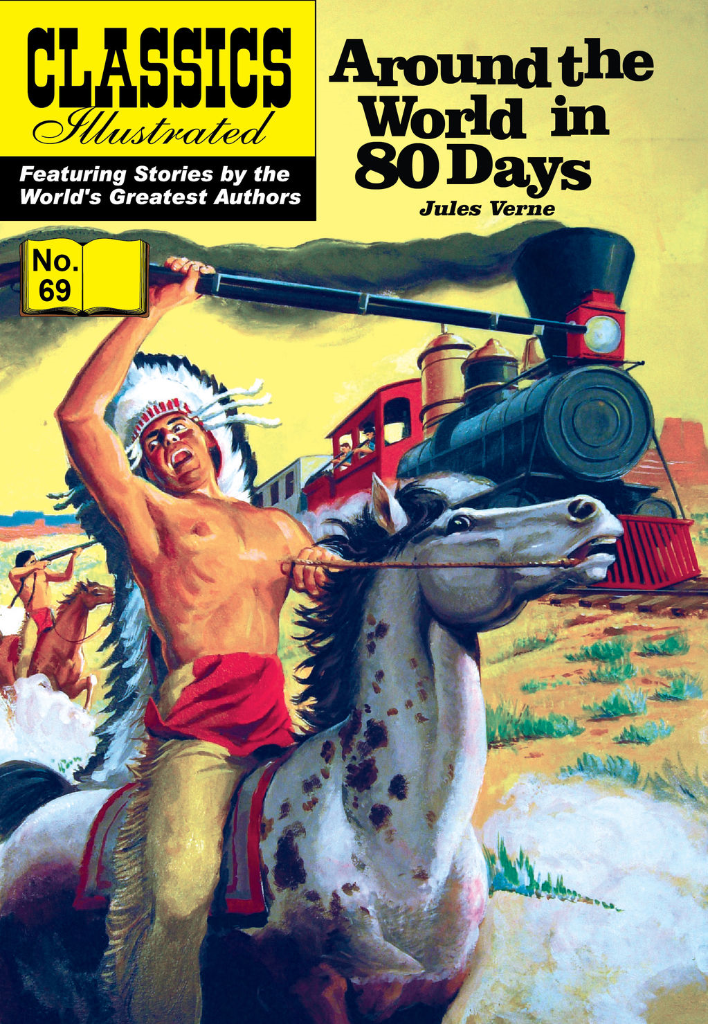 Around the World in 80 Days - Classics Illustrated #69