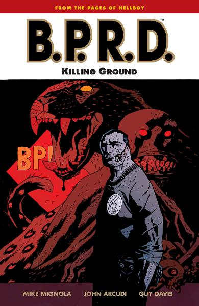 B.P.R.D. Vol. 8: Killing Ground  By: Mignola, Mike;Arcudi, John;Davis (Artist), Guy; Stewart (Colorist), Dave; Mignola (Cover Artist), Mike