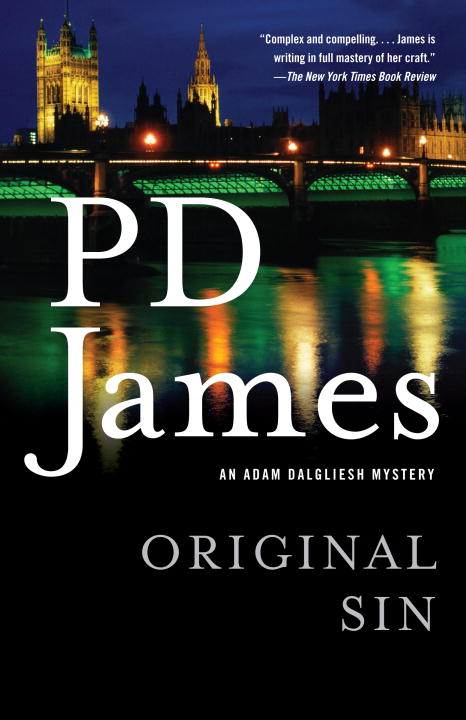 Original Sin By: P.D. James