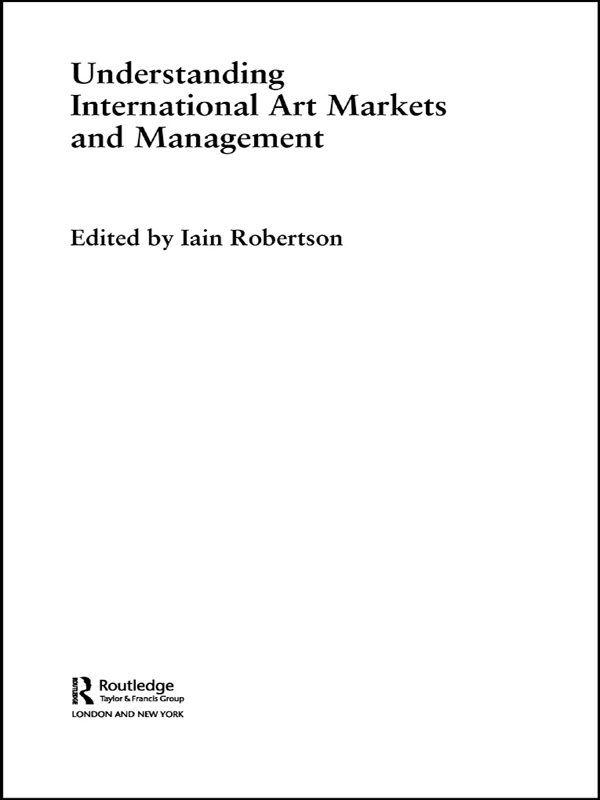 Understanding International Art Markets and Management